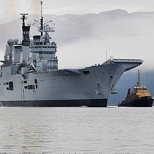 Ark Royal 10 Feb - (C) Inverclyde Now